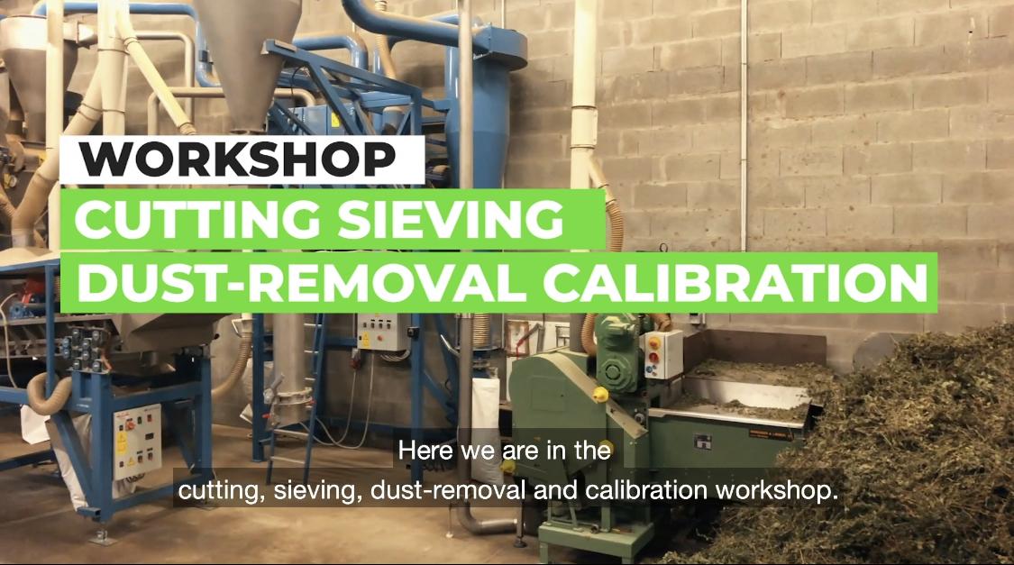 Herramientas de fabricación y CAILLEAU Herboristerie hierbas transformaciones